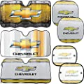Chevrolet Chevy Reflective Windshield Sunshades & Side Sunshades & Springshades