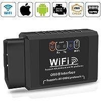OBD2 Diagnoseapparaat Auto, OBD2 Bluetooth Carly Adapter WiFi OBD II Voertuig Diagnostische Scanner Tool, ELM327 VCDS…