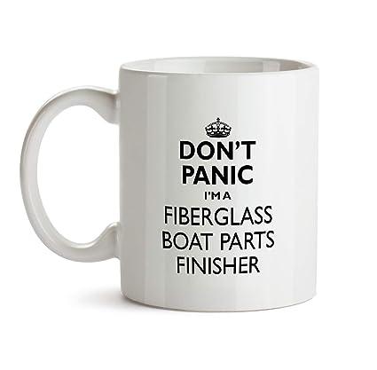 Amazon com: Fiberglass Boat Parts Finisher Gift Mug - Don't