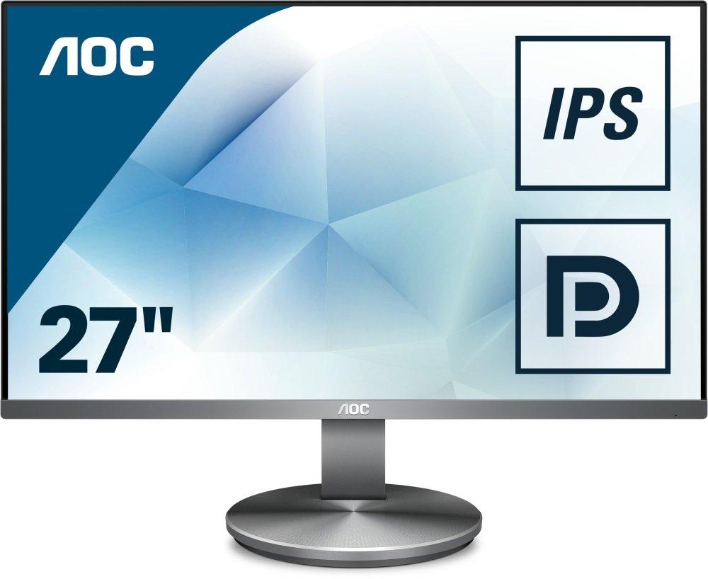 Monitor de 23.8 resoluci/ón 1920 x 1080 Pixels, tecnolog/ía WLED, Contraste 1000:1, 4 ms, HDMI, Altura no Regulable Color Negro AOC Monitores I2490VXQ//BT