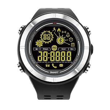 Reloj de pulsera inteligente militar digital para adolescentes, Bluetooth, para deportes al aire libre