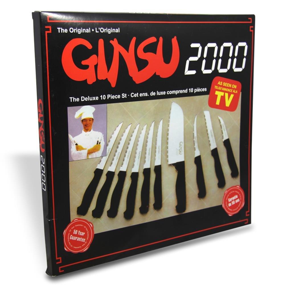 HC de Comercio 910369 Ginsu 2000 Juego de 10 cuchillos de 32 ...