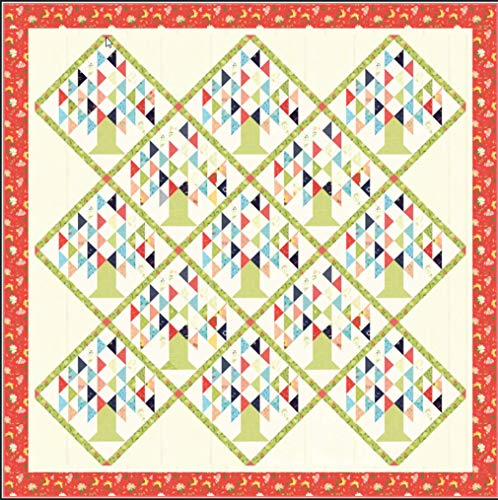 - Sherri and Chelsi Clover Hollow Family Tree Quilt Kit Moda Fabrics KIT37550