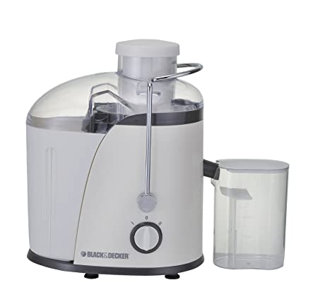 Black & Decker JE400 400-Watt Juice Extractor (White) Centrifugal Juicers at amazon