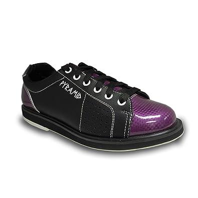 dfc9f81a36 Pyramid Womens Path Bowling Shoe (Black Purple