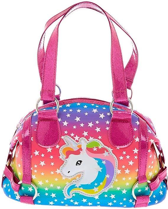 Femmes sacs à main-Licorne Rose Rainbow