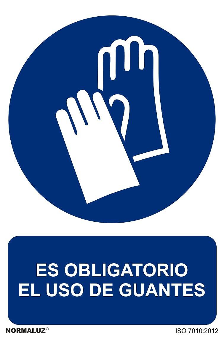 Forever Print - Carteles Pvc 40X30 Uso Obligatorio Guantes