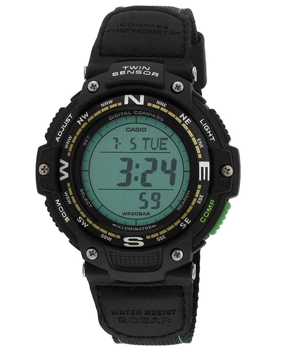 Casio Malla Me Up Outgear Cuarzo: Batería JAPAN Reloj (Modelo de Asia) SGW-100B-3A2