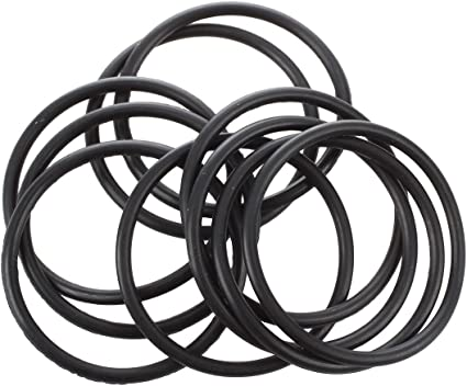 ACAMPTAR 10 Pi/èCes Joint Torique en Caoutchouc Noir Joints Toriques Joints Rondelles 40 X 35 X 2,5 Mm