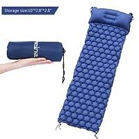 WEINAS Sleeping Pad Ultralight Compact Camping Backpacking Air Pad With Pillow Inflatable Sleeping Mat Portable Hiking Mattress