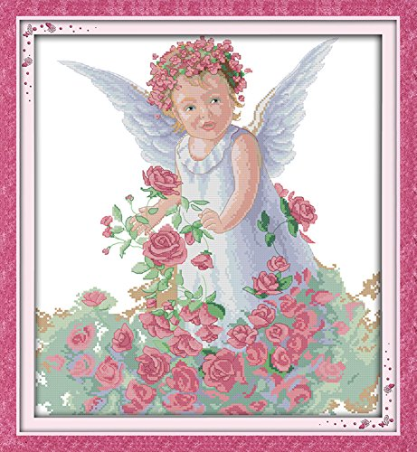 Vintage Rose Cross Stitch - 9