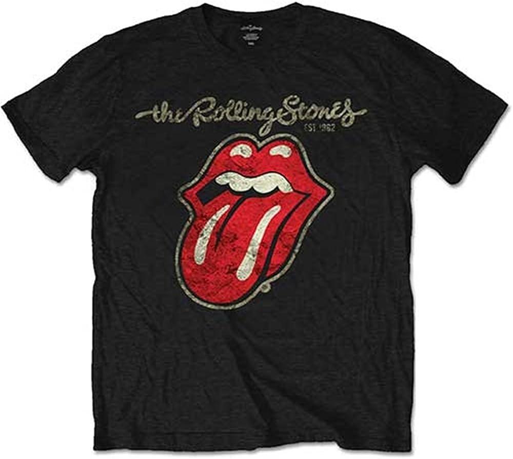 Rolling Stones The Classic Tongue Tour '78 Vintage 70 Men's Tee Shirt Sweatshirt Black