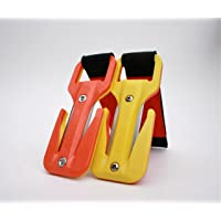 Eezycut Yellow/Orange (Hi-Viz) Trilobite Knife Orange Velco and Harness Pouch