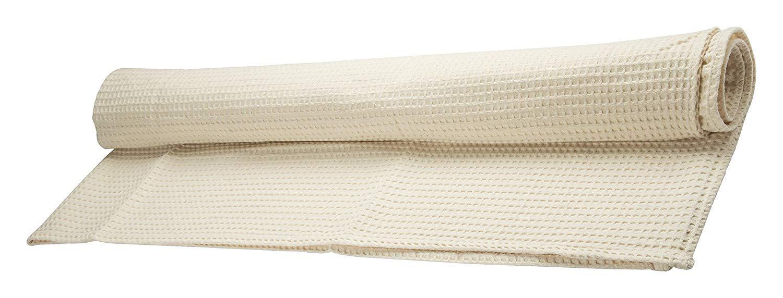 Juego de 4 toallas de nido de abeja Beige 100% algodón Made in Italy: Amazon.es: Hogar