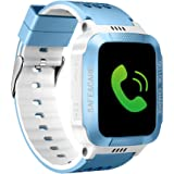 Kids Smart Watches GPS Tracker Phone Call for Boys Girls, Digital Wrist Watch Sport Smartwatch
