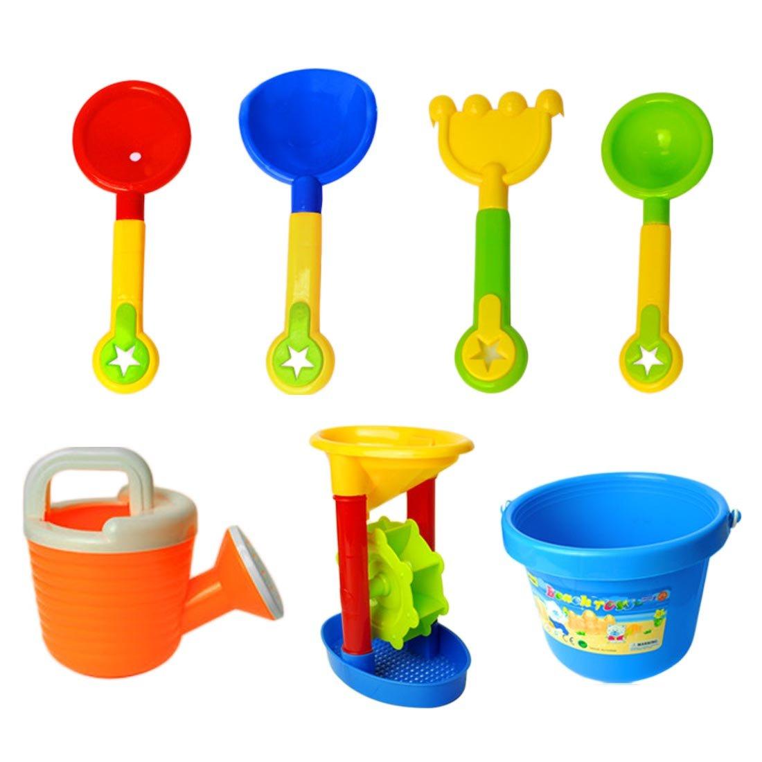 Ruefree 13pc Kids Beach Toys Set, Sandbox Toys, Sand Toys