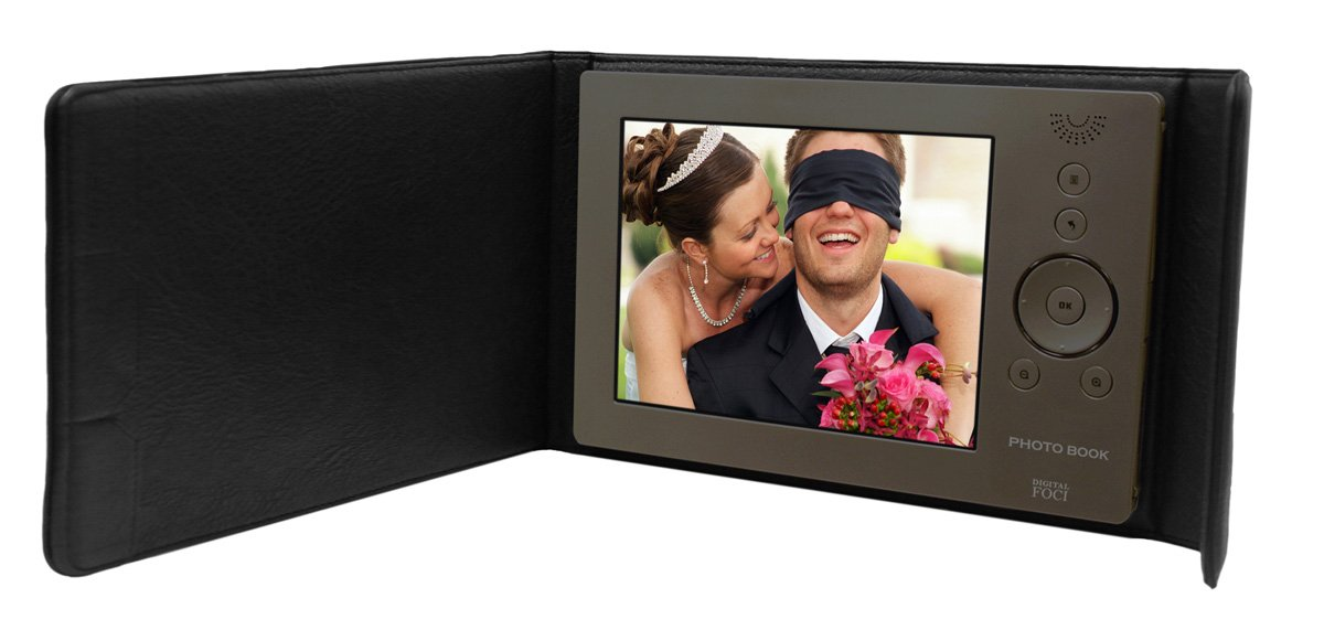 Digital Foci Photo Book 8-Inch Portable Digital Photo Album (PBK-080)