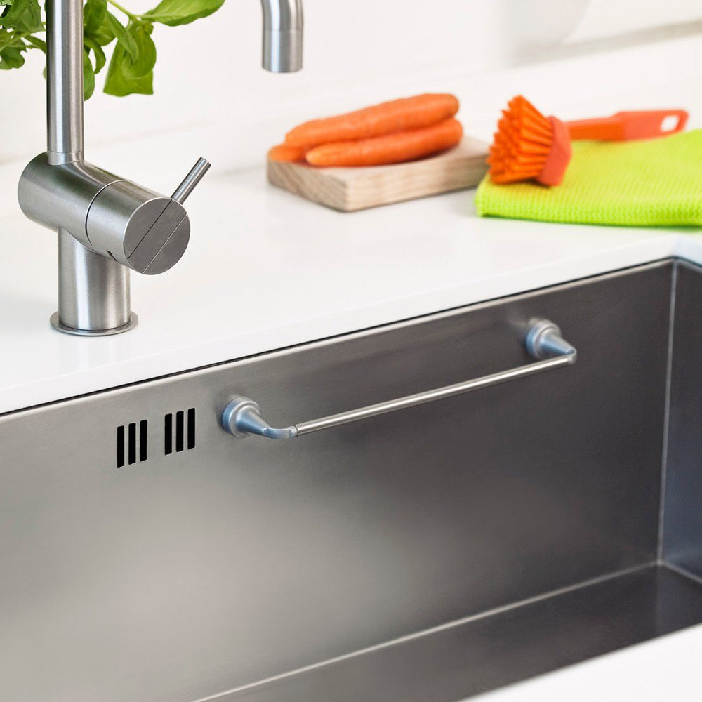 Perfect Amazon.com: REENBERGS Magnetic Cloth Rail For Stainless Steel Sink Used:  Kitchen U0026 Dining