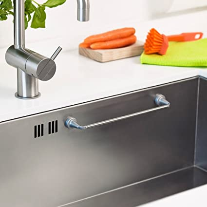 Amazon.com: REENBERGS Magnetic Cloth Rail for stainless steel sink ...