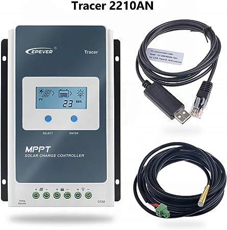 contr/ôleur de charge de panneau solaire EPEVER Contr/ôleur de charge Fuhuihe MPPT 10A