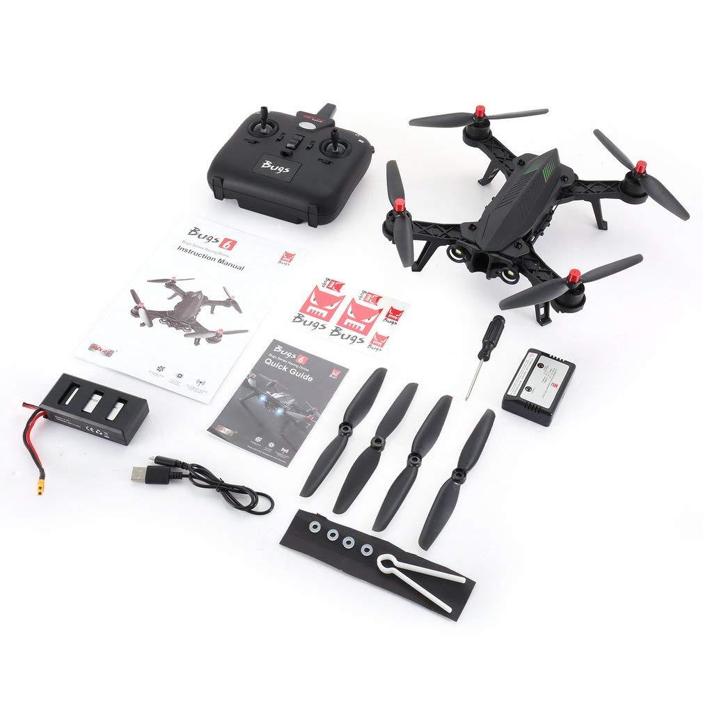 mejor vendido GreatWall MJX Bugs 6 B6 - Dron RTF de Alta Alta Alta Velocidad (2,4 GHz, Motor sin escobillas), Color Negro  autorización oficial
