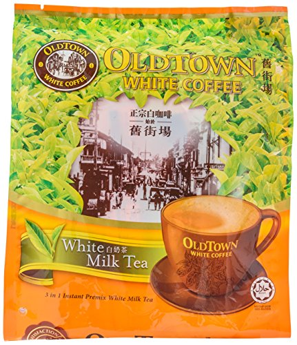 OLD TOWN 3 IN 1 Tea White Milk, 16.9 (Instant Milk Tea)