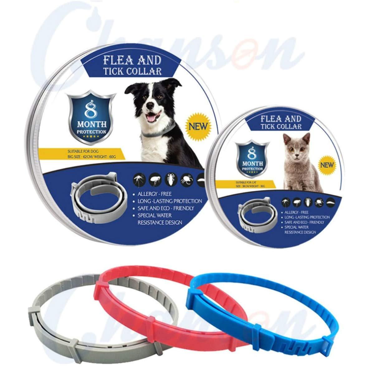 Find Li Collar Repelente De Insectos para Mascotas Suministros De Desparasitaci/óN para Mascotas Gato Collar para Perros Pulgas Repelente De Mosquitos Eliminador De Insectos 38cm