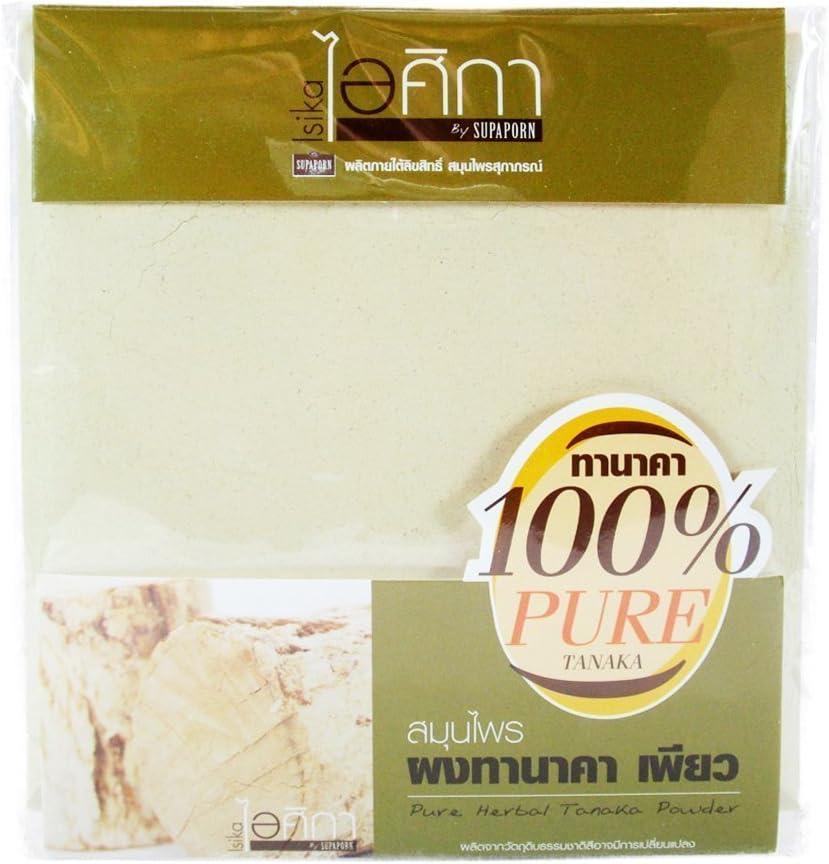 Tanaka Powder, Whitening, 100% Pure Herbal Facial Mask, 50g | BeautyBreeze