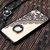 Best K&H iPhone 4 Cases - iPhone 6 Case with 360 Rotate Ring Kickstand&Detachable Review