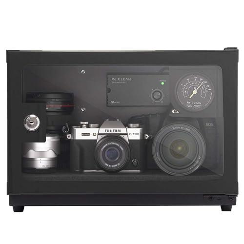 インテリアにこだわった高機能な全自動カメラ用防湿庫 Re:CLEAN RC-21L