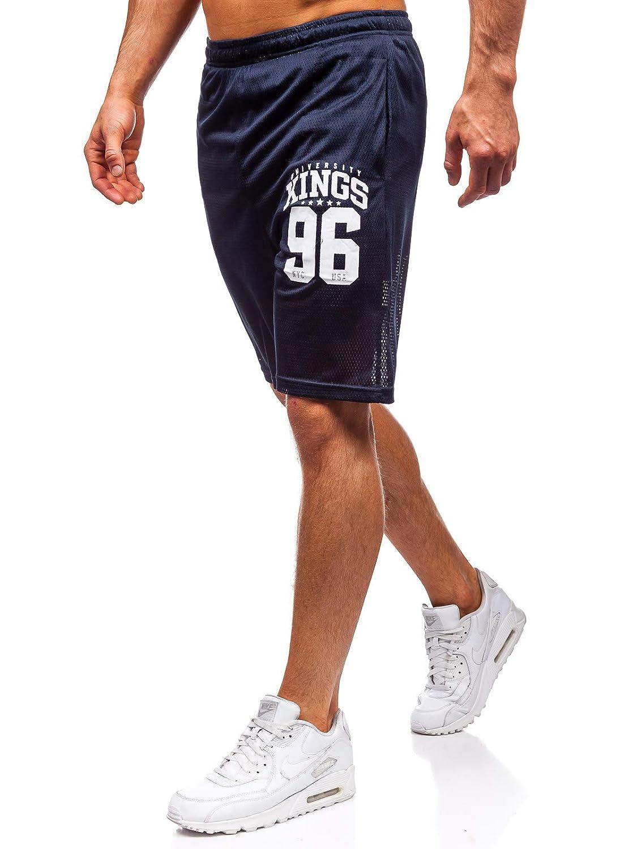 Maglietta BOLF Set Stile Sportivo Pantaloncini da Uomo 8H8 Estivo Stampa Senza Maniche