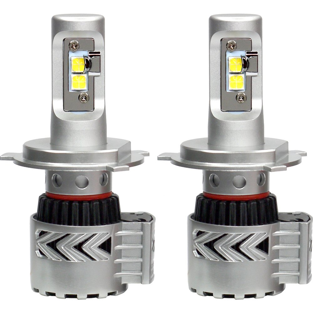 Unipower Electronics CREE製XHP50 LEDチップ搭載モデル H4ハイロー切替 6500K 「Generation8 LED コンバージョンキット」【圧倒的な明るさの6000ルーメン】【1年保証】 B01BHF5YKW  CREE製XHD50LEDチップ 6500K H4ハイロー切替