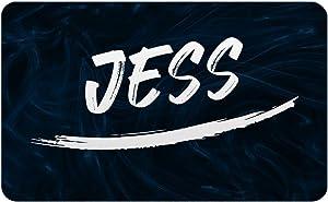 Makoroni - Jess Male and Boy's Name Refrigerator Wall Magnet 2x3 inc