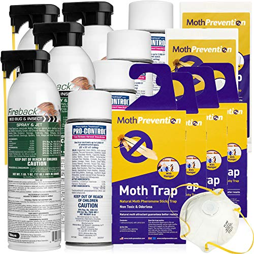 West Bay Retail Moth Killer Kit Clothes Moths Amp Carpet