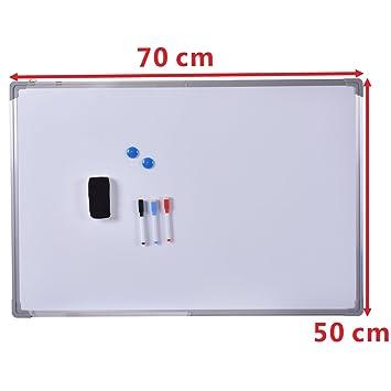 Pizarra Blanca de pared Pizarra magnética con esenciales ...