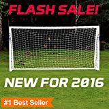 FORZA Soccer Goal- The ultimate 2016 home soccer goal! Leave up in all weathers & takes 1000s of shots!