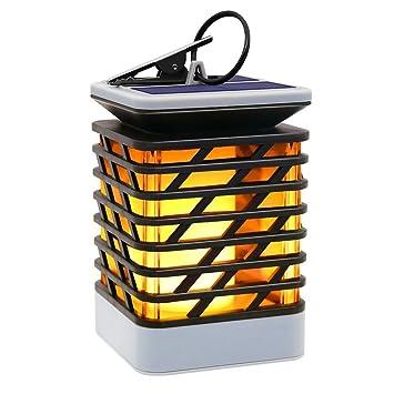 D'effet Camping Bougie Jardin Pour CampingLumière Imperméable Lanternes Lampe Flamme Extérieur Solaire Scintillement AccrochanteLed Lanterne c54LqR3Aj