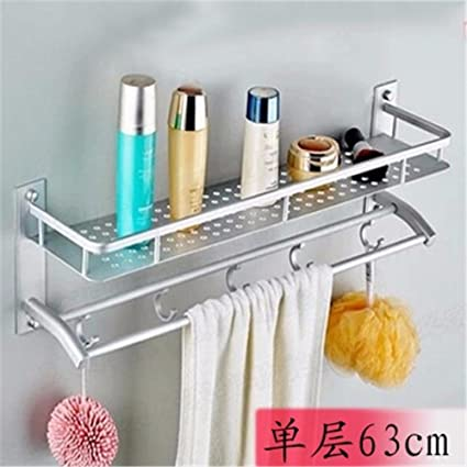 Toalla de baño o cocina Bar titular de Rack de almacenamiento de montaje en  pared ac6b958cec92