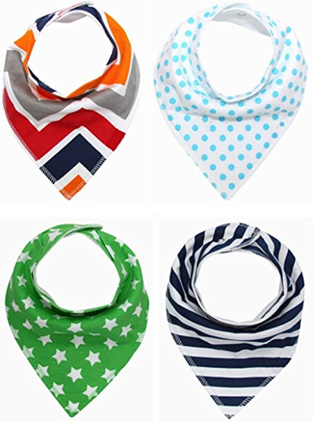 kimming Toddler Infant bebé babero 100% algodón absorbente Bandana ...