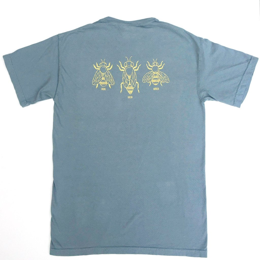 8ed7a2eeca2bdd Honey Bees Adult Short Sleeve Pocket Tee by Honey Bee Tees | Amazon.com