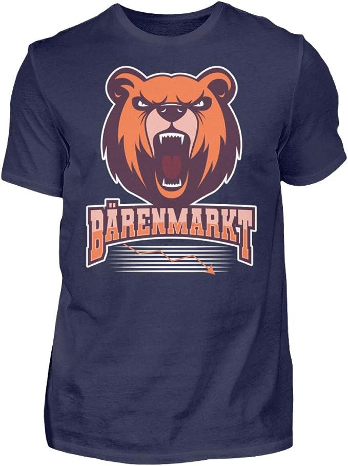 Camiseta para hombre con diseño de oso Börsianer: Amazon