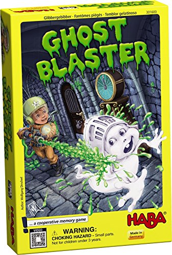 HABA Ghost Blaster - A Cooperative Memory Game for Ages 5 and Up (Made in Germany) Haba Memory Game