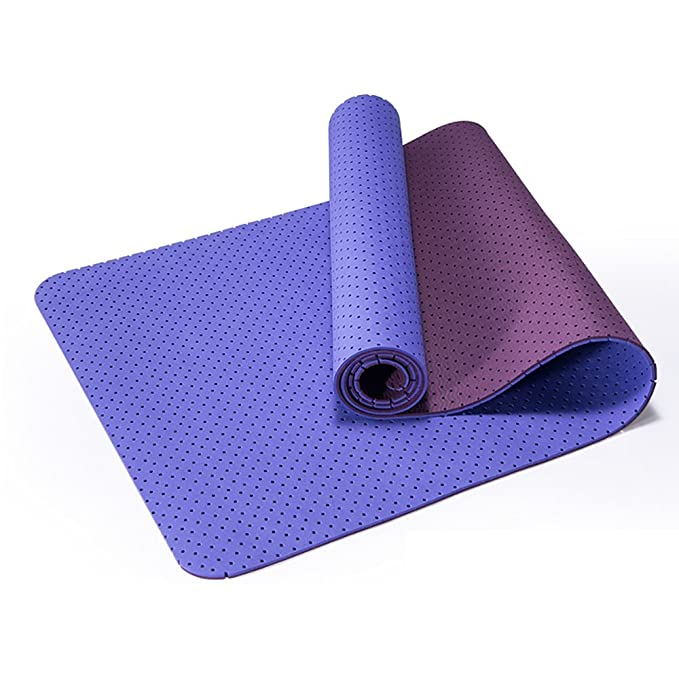 QFFL Estera de Yoga/Antideslizante Tasteless TPE Fitness Mat ...