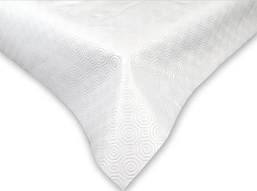 Mantel protector de mesa con muletón, elástico, antimanchas ...