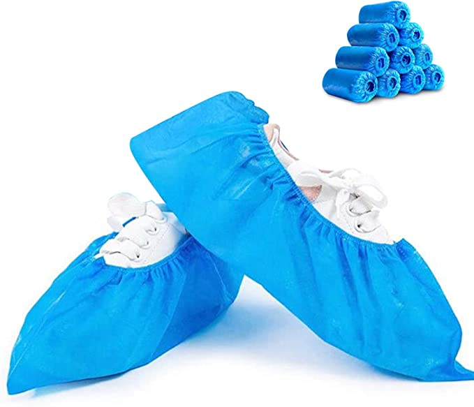 200-1000x Waterproof Shoe Covers Plastic Disposable Overshoes Protector USA NW
