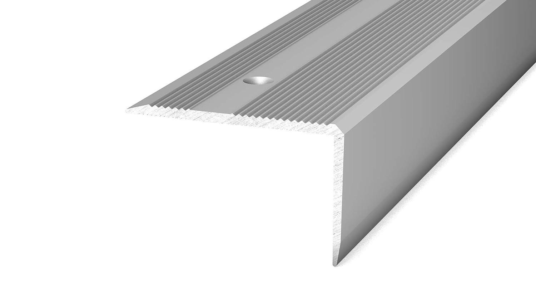 2,50m Edelstahl Matt Prinz Treppenkantenprofil 293 40x25 mm