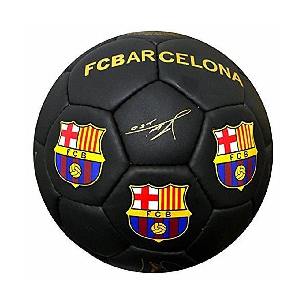 F.C Barcelona Calidad Suprema Signature Footb 5 Negro: Amazon.es ...