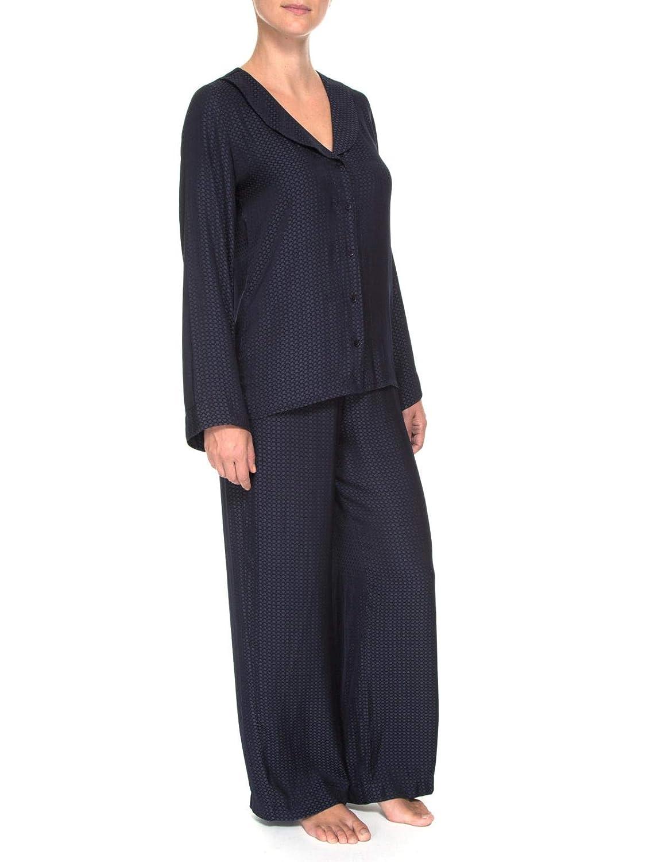 dcb4dd471 Pijama Loungerie Longo Cetim Magdalena Marinho  Amazon.com.br  Amazon Moda