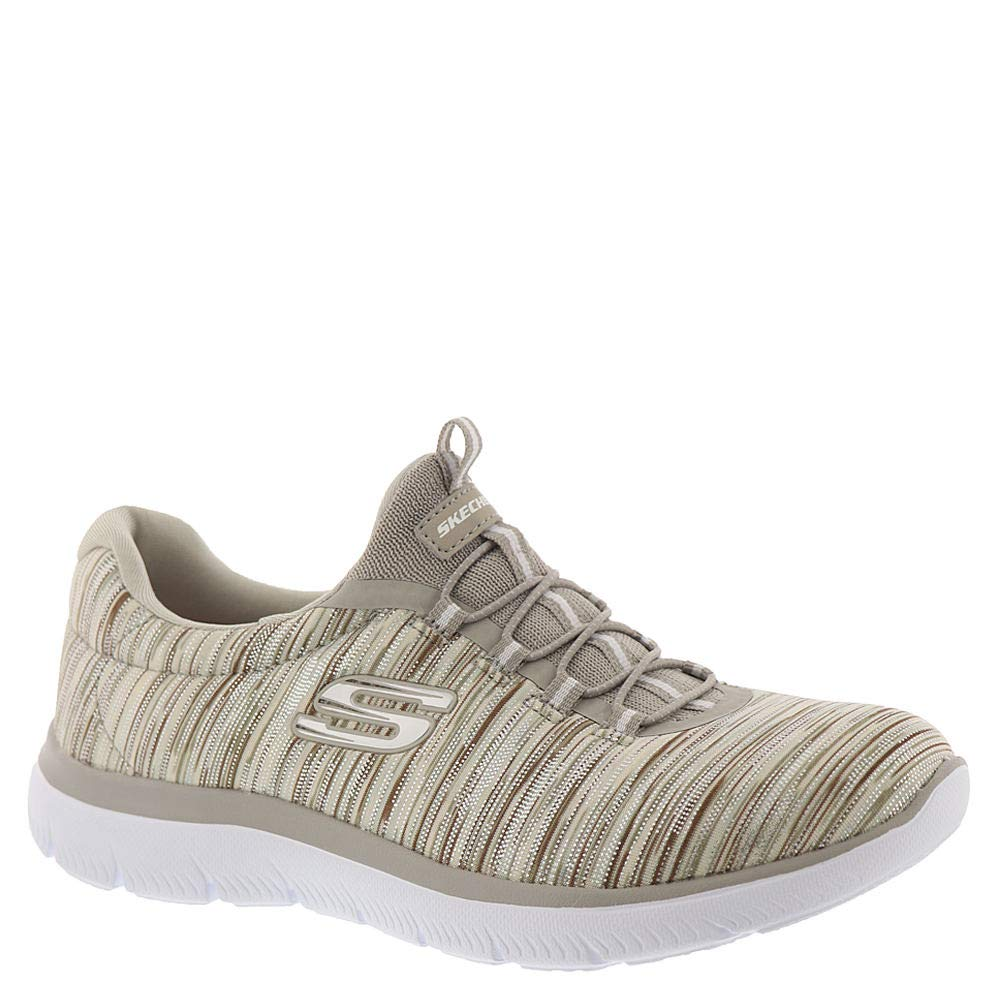 Taupe Skechers Womens Summits-Light Dreaming Sneaker