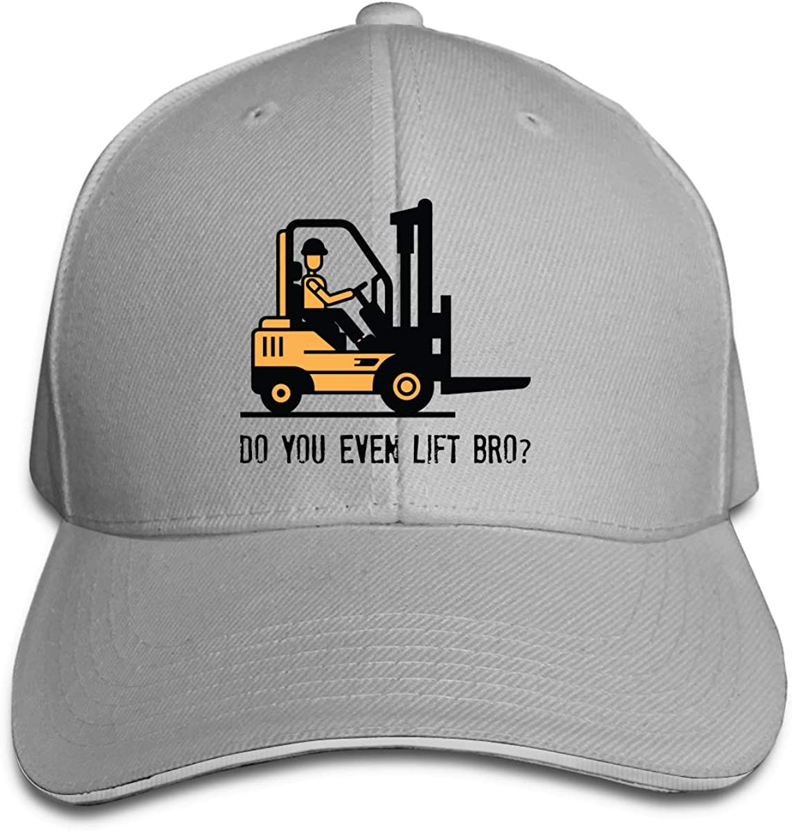 Even Lift Bro Fork Lift Classic Adjustable Cotton Baseball Caps Trucker Driver Hat Outdoor Cap Gray